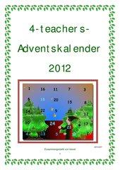 4teachers-Adventskalender 2012 - Teil 1