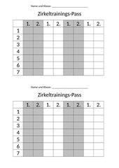 Zirkeltrainings-Pass