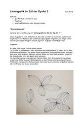 Op-Art  2  - Blumenbouquet