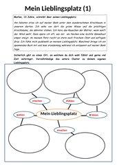 Einen Text vorbereiten - die  Cluster - Methode