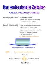 Einführung in das konfessionelle Zeitalter