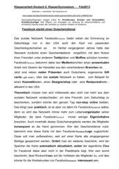 Diktat Klasse 8 Gymnasium Fremdwörter