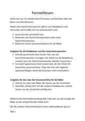 Fernsehteam! Neueste Nachrichten über Baron von Münchhausen.