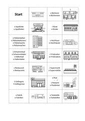 Domino - Gebäude der Stadt