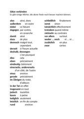 Französische Sätze verbinden