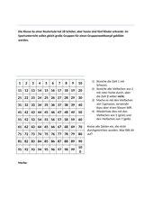 Einführung Primzahl und Sieb des Eratosthenes