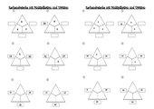 Rechendreiecke Multiplikation und Division