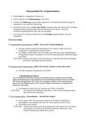 Themen Argumentation Erörterung Aufsatz
