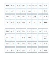 Domino Potenzgesetze