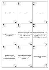 45 Quizfragen für die 7. Klasse