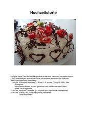 (Hochzeits)Torte