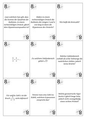 45 Quizfragen für die 8. Klasse