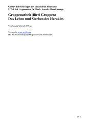 GA Sagen des Herakles