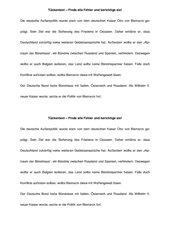 Tückentext zur Wiederholung von Bismarcks Außenpolitik
