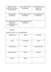 Semantisierung von Vokabeln