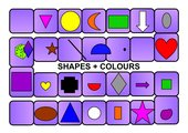 Board Game - Shapes And Colours
