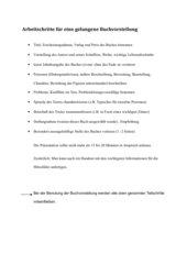 Tipps für Schüler für Buchvorstellungen