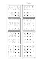 Vorlage 4x4 Geobrett