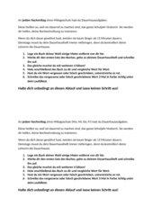 Dauerhausaufgaben Deutsch Rechtschreibtraining Aufgabenformulierung