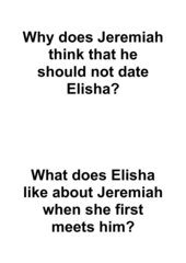 Elisha and Jeremiah. Laufdiktat Englisch Klasse 8. zu Portobello Road 4 p.66