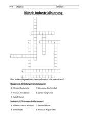 Rätsel: Industrialisierung