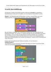 Scratch: Spielerischer Zugang zum Programmieren, für Altersgruppe von etwa 8 bis 16 Jahre