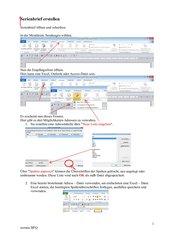 Serienbrief erstellen mit Word 2010