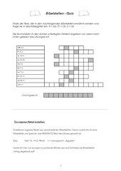 Bibelstellen-Quiz