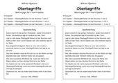Spiel zu Nomen-Oberbegriffen: Wörter-Quattro Oberbegriffe