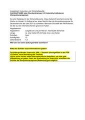 Konjunkturindikatoren (Konjunkturprognose schreiben)