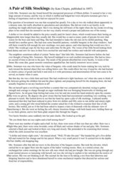 Klausur - Short Story
