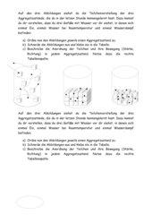 AB Teilchenvorstellung der drei Aggregatzustände