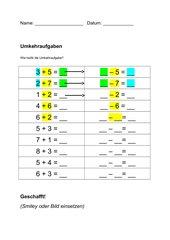 AB Umkehraufgaben ZR 10 Klasse 1