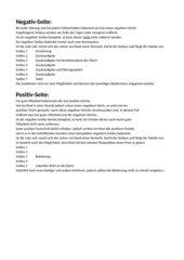 Smiley-Tabelle für Belohnung und Strafe