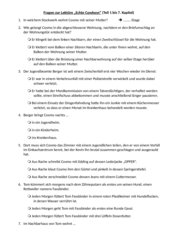 """Fragen zur Lektüre """"Echte Cowboys"""" von Stephan Knösel - Teil 1"""