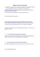 Essstörungen: Aufgaben zu Artikeln aus dem Internet