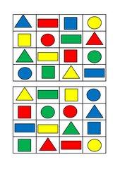 Flächen Bingo