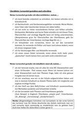 Checkliste Lernzettel