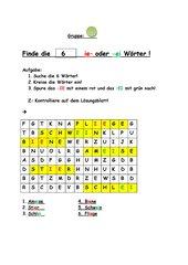 Suchsel_Optische Differenzierung -ie und -ei