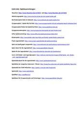 Link-Liste: Spielesammlungen