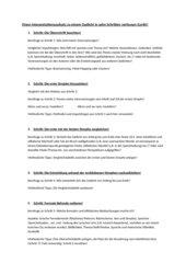 Zehn-Schritt-Analysemethode Lyrik
