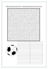 Suchsel: Fußball-WM-Teilnehmer