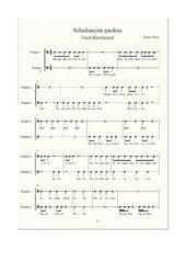 Schulranzen packen: ein Vocal-Rhythmical