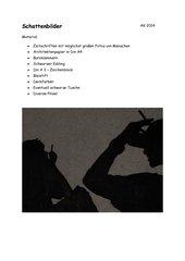 Schattenbilder - Hell-/Dunkelkontrast