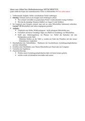 Tipps für Schüler zur Gestaltung von Mitschriften