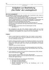 Wochenplan Portofolie Lestetagebuch Die Welle Rhue