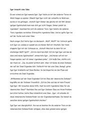 Einführungsgeschichte zum Buchstaben I