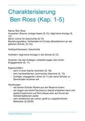 Charakterisierung Ben Ross Die Welle