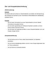 UR-Skizze: Der Einfluss der Eisenbahn in Deutschland
