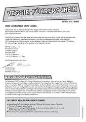 Veggie-Führerschein 6-11 Jahre